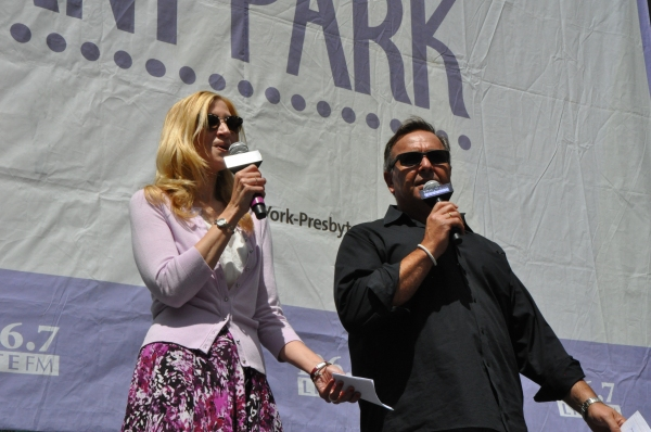 Christine Nagy and Bob Bronson
