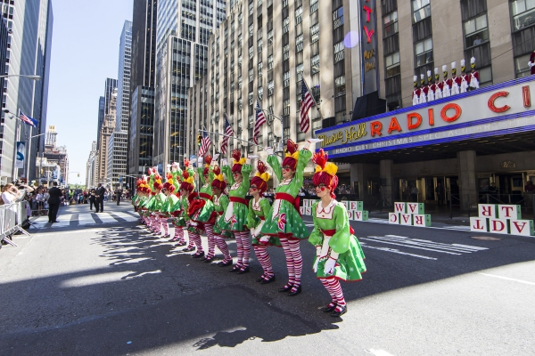 Photo Flash: The Rockettes Kick Off 2015 Radio City Holiday Season with CHRISTMAS IN AUGUST