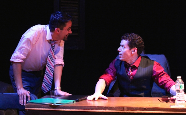 Javier E. Gomez as Gould and Eric-Dominique Perez as Fox