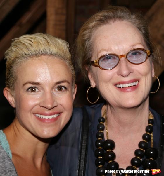 Meryl Streep visits Betsy Struxness