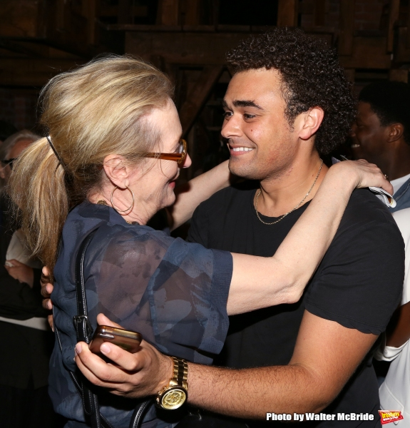 Meryl Streep visits Andrew Chappelle