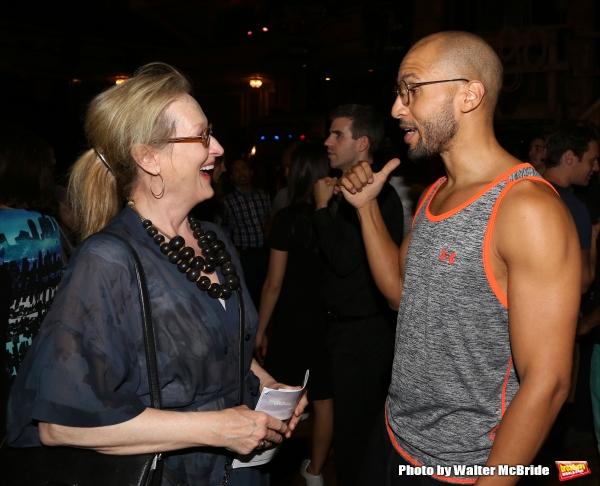 Meryl Streep visits Sydney James Harcourt