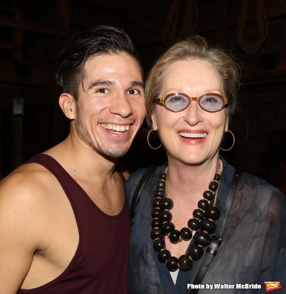 Meryl Streep visits Jon Rua