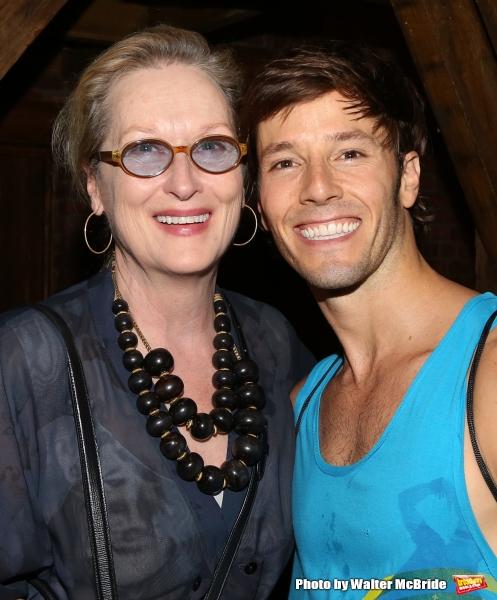 Meryl Streep visits Thayne Jasperson