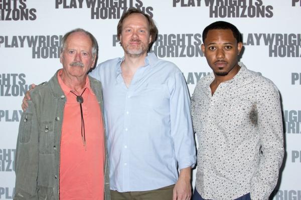 Philip Kerr, Andrew Garman, Larry Powell Photo