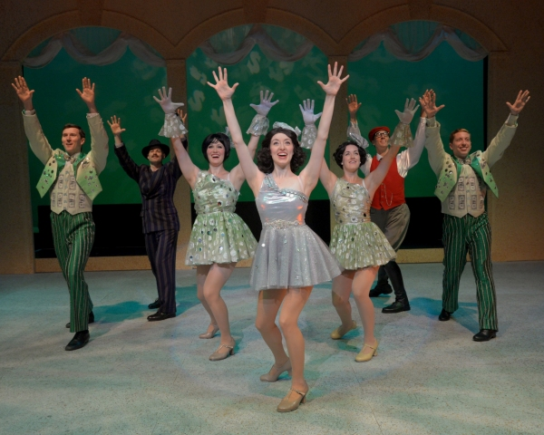 Photo Flash: First Look at WBT's BACKWARDS IN HIGH HEELS