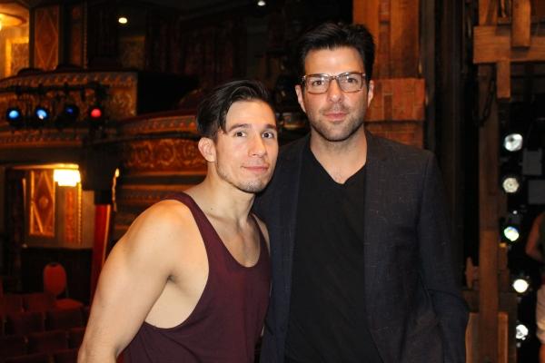 Jon Rua and Zachary Quinto