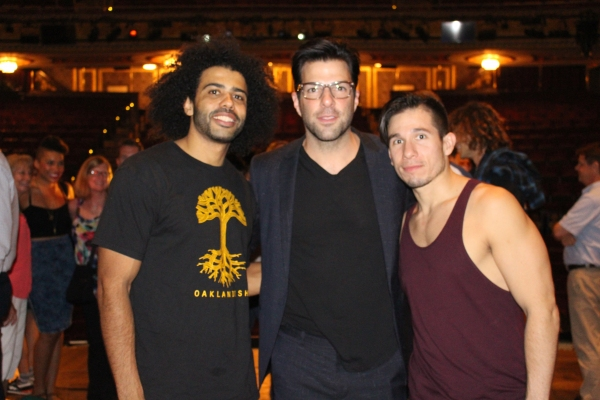 Daveed Diggs, Zachary Quinto and Jon Rua