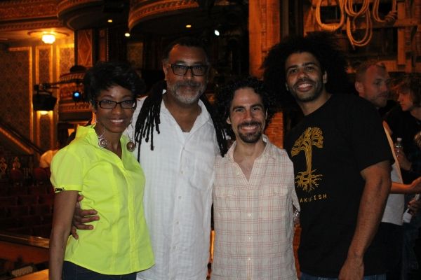 Adriane Lenox, Zane Mark, Alex Lacamoire and Daveed Diggs