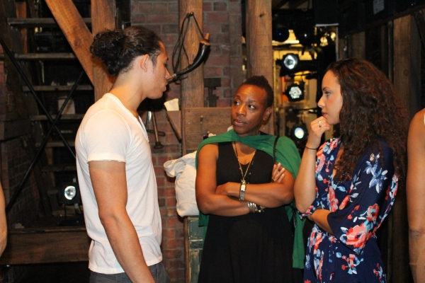 Anthony Ramos, Marianne Jean-Baptiste and Jasmine Cephas Jones