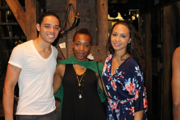 Anthony Ramos, Marianne Jean-Baptiste and Jasmine Cephas Jones