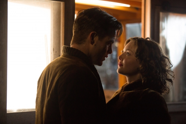 Chris Pine stars and Holliday Grainger