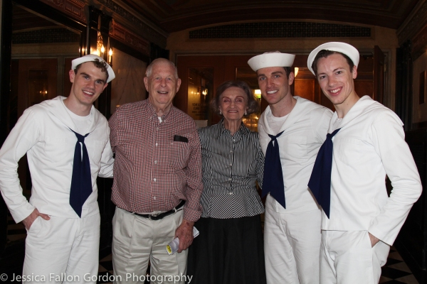 Photo Coverage: Navy Vets Celebrate 70th Anniversary of WWII's End at ON THE TOWN!