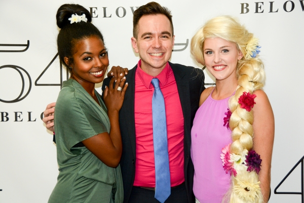 Adrienne Warren, Benjamin Rauhala, and Taylor Louderman