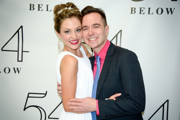 Laura Osnes and Benjamin Rauhala