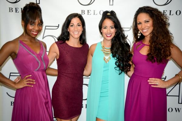 Khori Petinaud, Lauryn Ciardullo, Courtney Reed, and Jennifer Rias