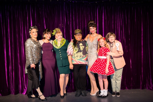 Photo Flash: Jiggly Caliente Visits RUTHLESS! Off-Broadway