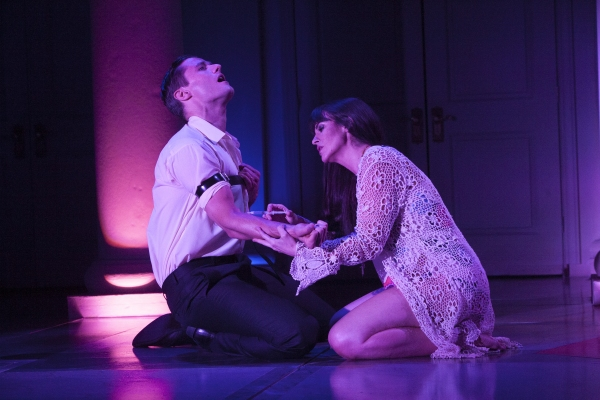 Mark Evans and Rachel Zampelli