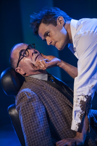 Photo Flash: First Look at Mark Evans and More in Signature Theatre's THE FIX