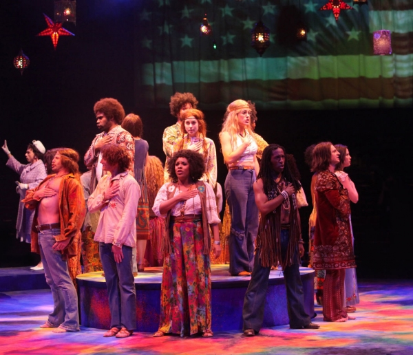 Photos: First Look at Stephanie Mieko Cohen, Laura D'Andre, Peter Saide, Oliver Thornton and More in HAIR at Music Circus
