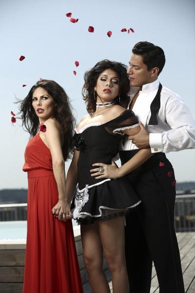 Elia Saldana, Esperanza America and Nicholas Rodriguez