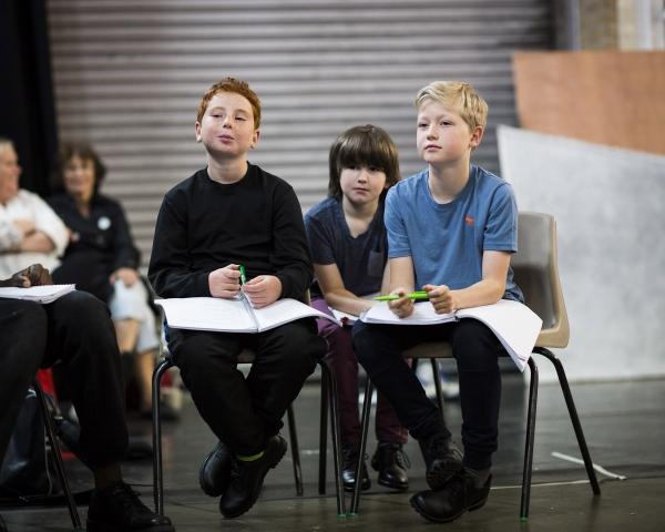 Guy Abrahams, David Evans and Ben Barker Photo