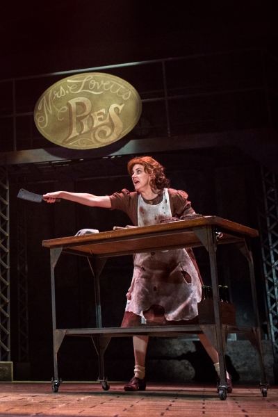 Photo Flash: First Look at David Ludwig and More in SWEENEY TODD at Merry-Go-Round Playhouse