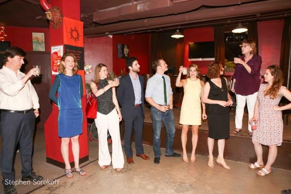 Tristan Wilson, Lucy Teitler, Louisa Prose, Julianne Boyd & Cast Photo