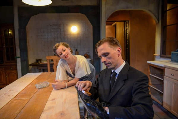 Maggie Scrantom and John Henry Roberts Photo