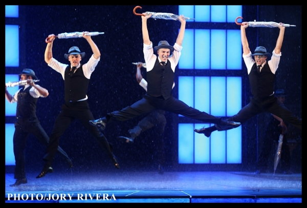 The latest international touring production of SINGIN' IN THE RAIN, produced by Stage Entertainment and Chichester Festival Theatre, opens in Manila.