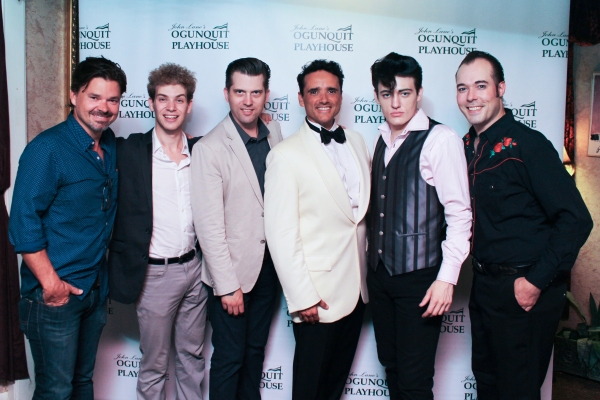 Hunter Foster, Nat Zegree, Robert Britton Lyons, Bradford T. Kenney, Jacob Rowley and Photo