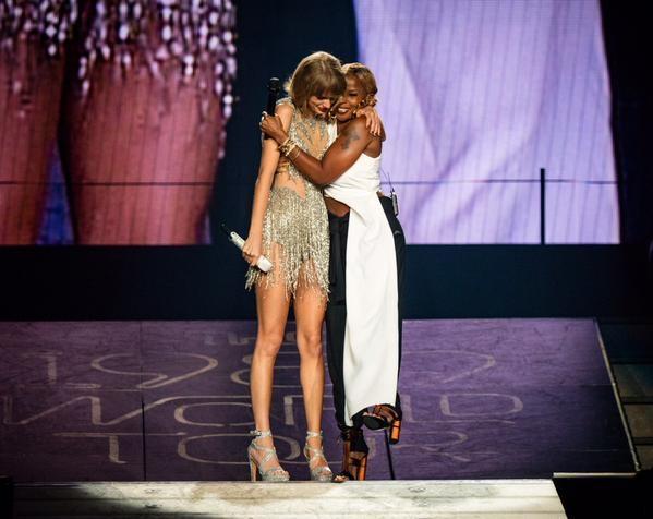 Taylor Swift, Mary J. Blige