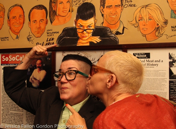Lea DeLaria and Lori Petty