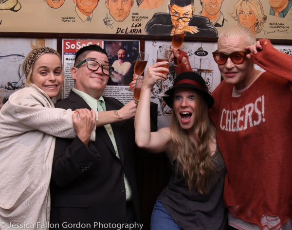 Taryn Manning, Lea DeLaria, Emma Myles and Lori Petty Photo