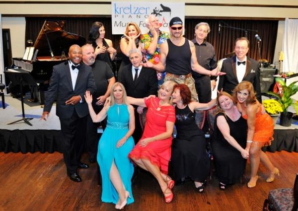 Physicians Talent Showcase 2015 (Front Row: Plastic Surgeon Dr. Robin Sykes; Presiden Photo