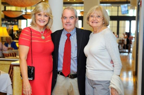 Kathi Kretzer-Sayler with Lee Sayler and Jean Sterner Photo