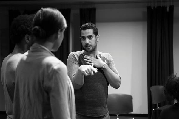 Director Kareem Fahmy with Luke Forbes and Krystel Lucas