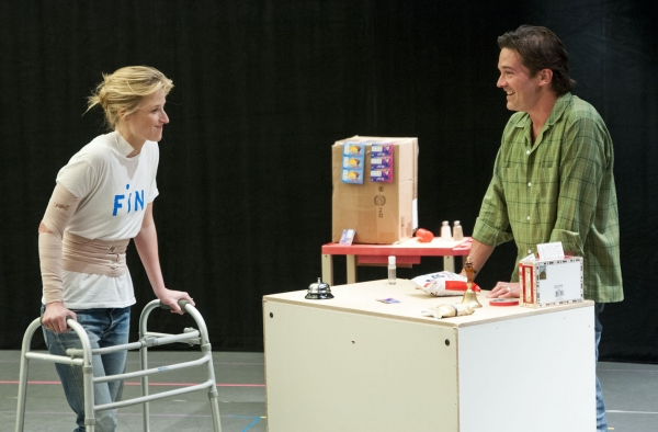 Mamie Gummer, Chris Stack