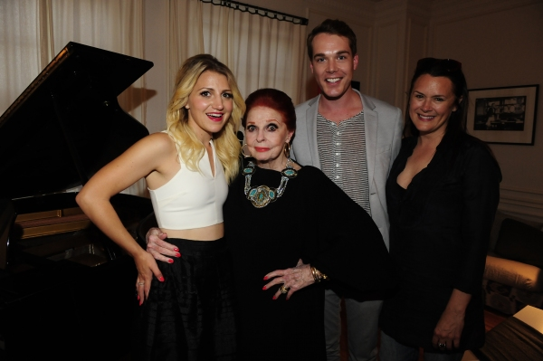 Mason McCulley, Founder Jennifer Howell, Annaleigh Ashford and Carole Cook