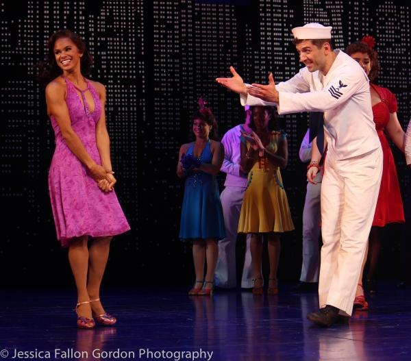 Misty Copeland and Tony Yazbeck