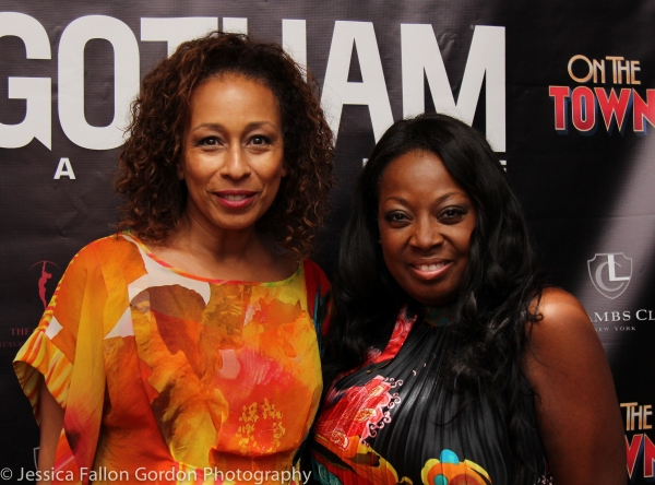 Tamara Tunie and Star Jones