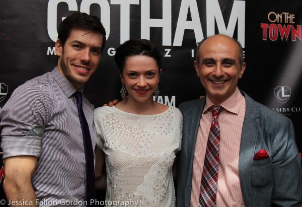 Brandon Leffler, Megan Fairchild and Stephen DeRosa Photo