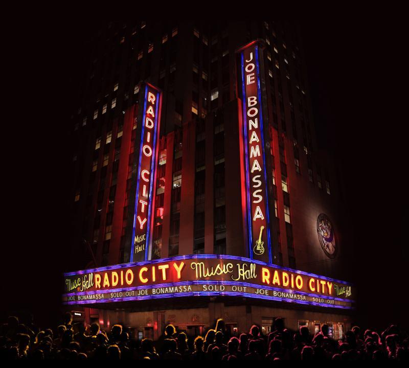 Joe Bonamassa To Release Live At Radio City Music Hall