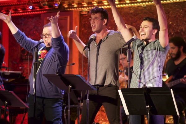 Photo Flash: All Gay Boy Band Takes Center Stage in THE OTHER DIRECTION at 54 Below