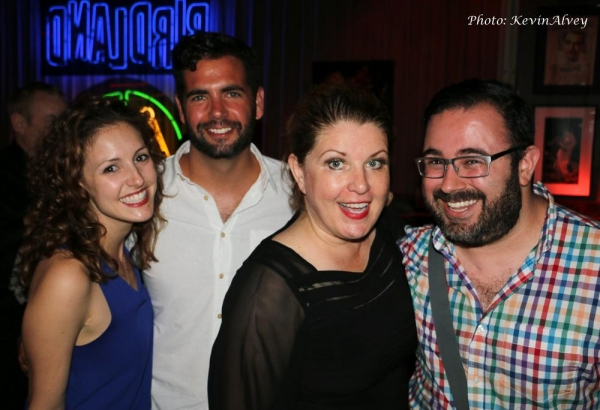 Andrea Prestonario, Ryan Reilly, Klea Blackhurst and Robby Sandler