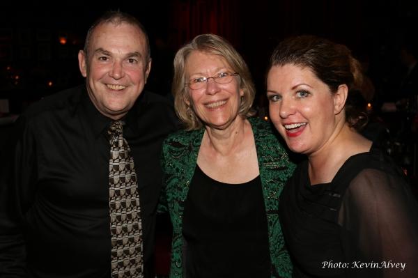Michael Rice, Denise Cooper and Klea Blackhurst