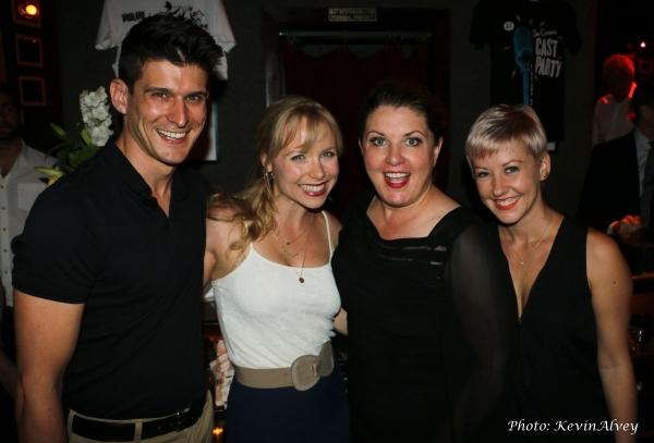 Patrick O'Neill, Marissa McGowan, Klea Blackhurst and Sarah Jenkins Photo