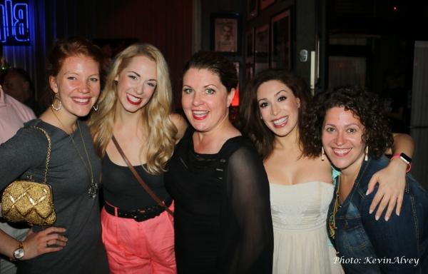 Rachel Fairbanks, Stephanie Cowan, Klea Blackhurst, Catherine Lefrere and Lucia Spina