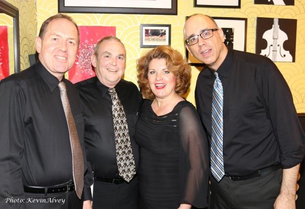 Ray Kilday, Michael Rice, Klea Blackhurst and Aaron Russell Photo