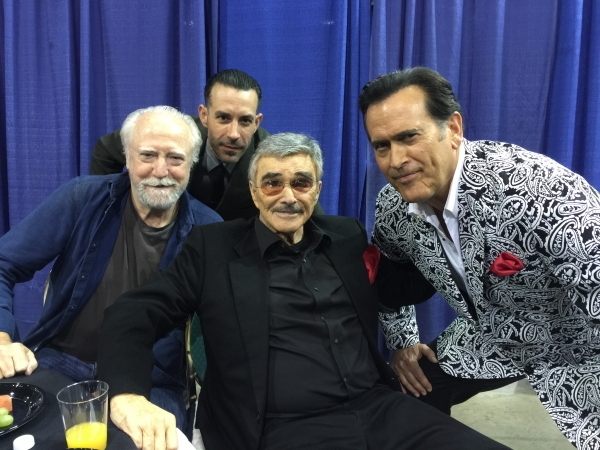 Burt Reynolds, Scott Wilson and Bruce Campbell
